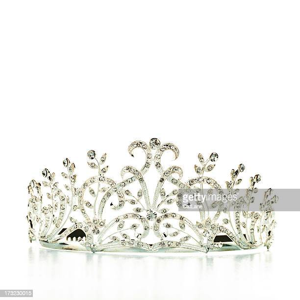 tiara - crown stock pictures, royalty-free photos & images