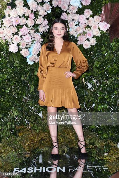 Tiarne Copeland attends the Fashion Palette 10th Anniversary Event on May 17, 2019 in Sydney, Australia.