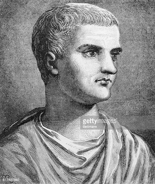Tiberius Claudius Nero Caesar 42 BC AD 37 The second of the long line of Roman Emperors