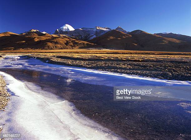 tibet ali gangrenboqi - mt kailash stock pictures, royalty-free photos & images