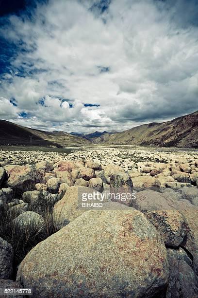 Tibet Landschaft, Tibet, China.