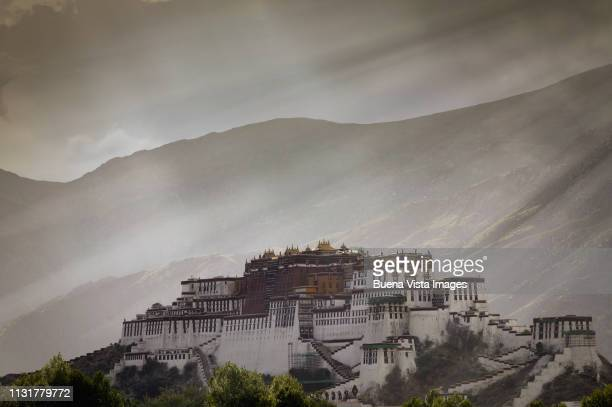 Tibet. Lhasa. The Potala Palace