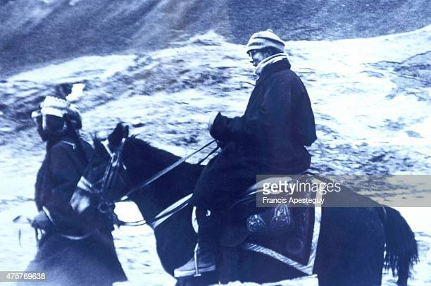 Tibet March 1959 The Dalai Lama secretly flees Tibet on horseback into exile in India The Dalai Lama of Tibet Tenzin Gyatso the 14th dalai lama of...