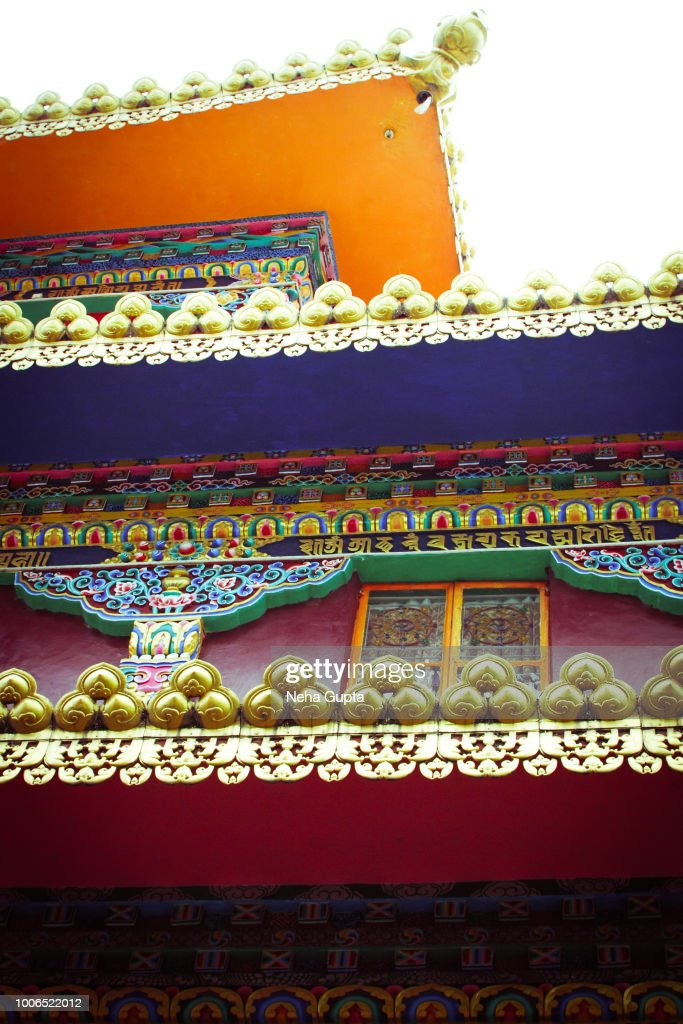 Tibetan Buddhist Architecture : Stock Photo