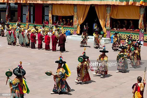 Tibetan Buddhist Festival in Rumtek Monastery Sikkim