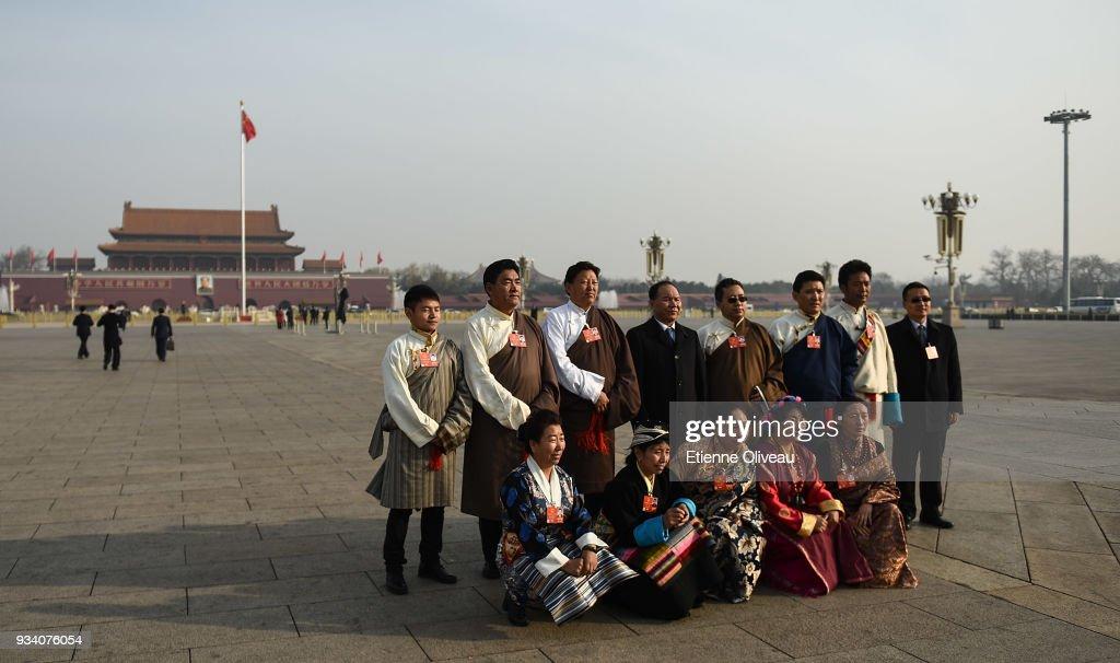 China's National People's Congress (NPC) - Seventh Plenary Meeting : News Photo