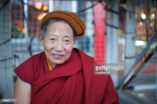Tibetische Nonne