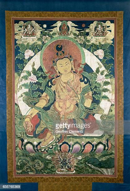 Tibetan Painting of Buddha from the Tibetan Museum