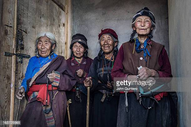 Tibetan prayers in a small village called Reer Xiang in Gansu Province, China. Ocated in the northwest of the country. Gansu lies between the Tibetan...