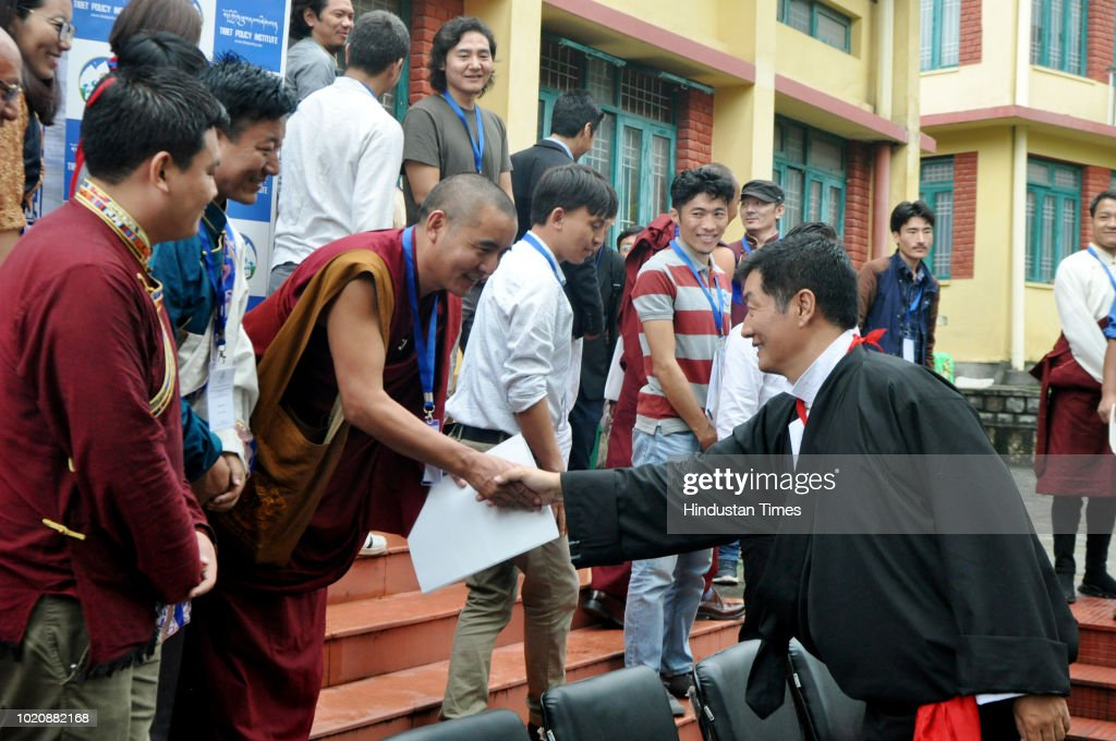 Tibetan Prime Minister In Exile Lobsang Sangay Address The 4th Young Tibetan Research Scholars Conference