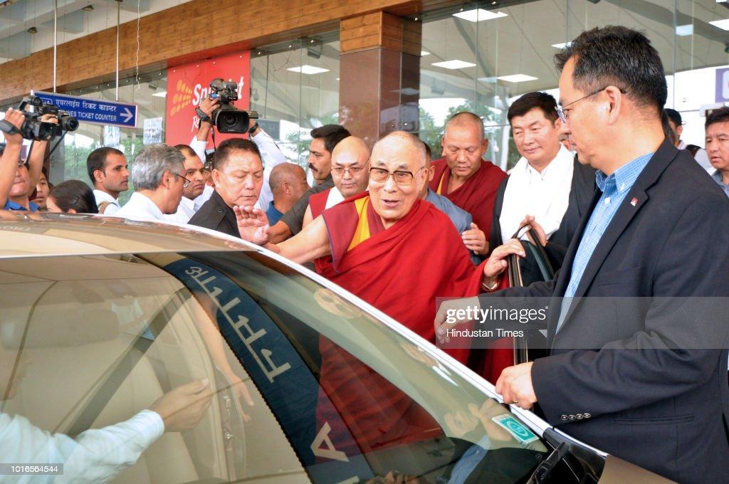 Tibetan Spiritual Leader Dalai Lama Arrives In Dharamshala
