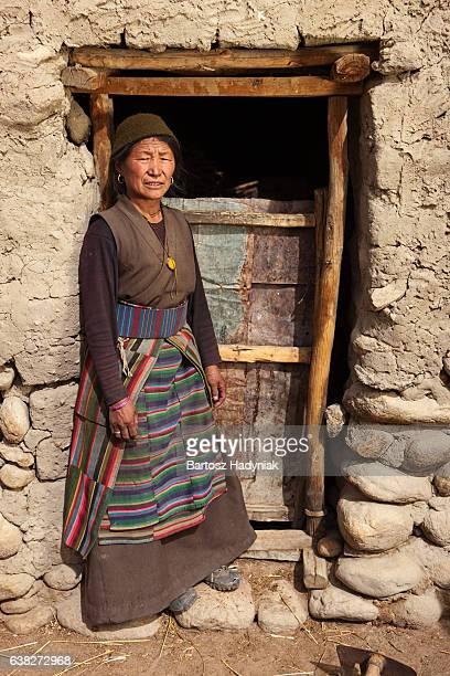 Femme tibétain, Lo Manthang, Upper Mustang