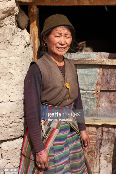 Tibetan woman, Lo Manthang, Upper Mustang