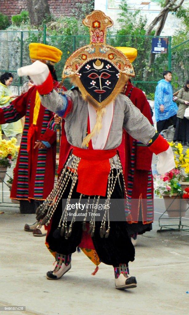 Tibetans Living-In-Exile Celebrate Shoton Festival