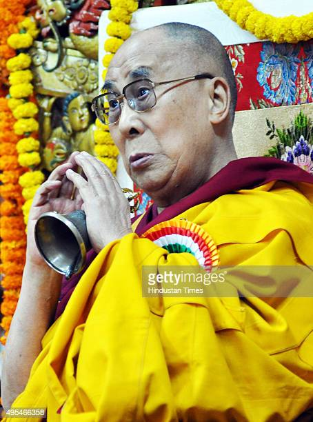 Tibetans spiritual leader the 14th Dalai Lama gives oneday special teaching on empowerment and how to generate compassion at the main Tibetan...