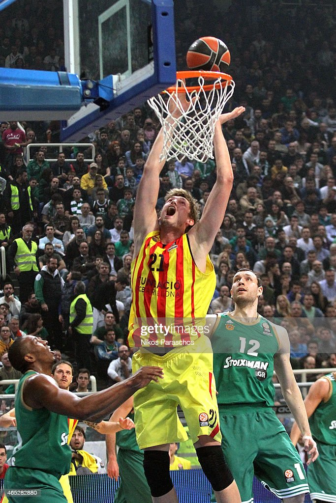 Panathinaikos Athens v FC Barcelona - Turkish Airlines Euroleague Top 16