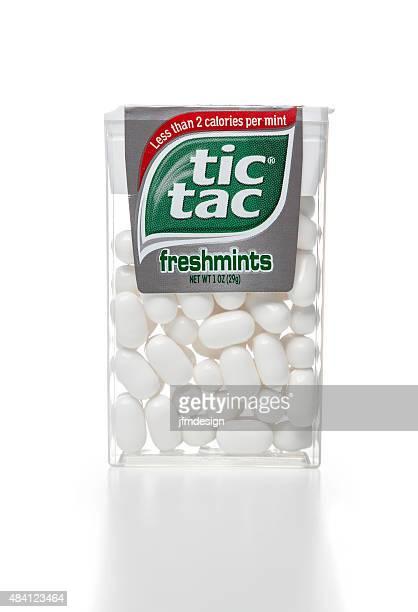 tic tac freshmints plastic container