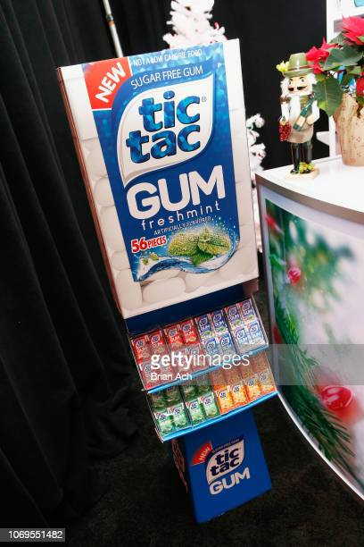 Tic Tac gum is seen during the Z100's Jingle Ball 2018 Gift Lounge at Madison Square Garden on December 7 2018 in New York City