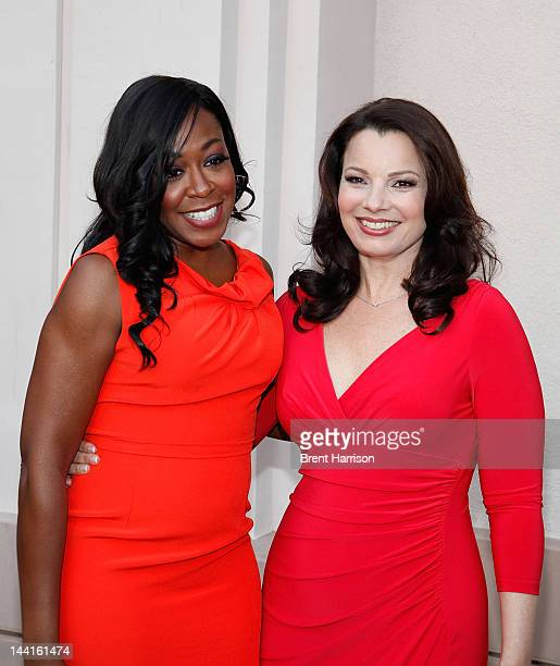 Tichina Arnold and Fran Drescher attends The TV Land Presents an Evening with Iconic TV Actresses at Leonard H Goldenson Theatre on May 10 2012 in...