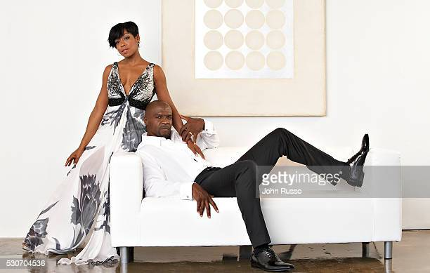 Tichina Arnold and Terry Crews