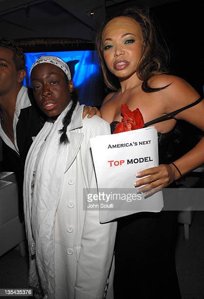 Tichina Arnold and Tisha Campbell during 7th Annual Heidi Klum Halloween Party, Sponsored by M&M's Dark Chocolate - Red Carpet and Inside at SBE's...