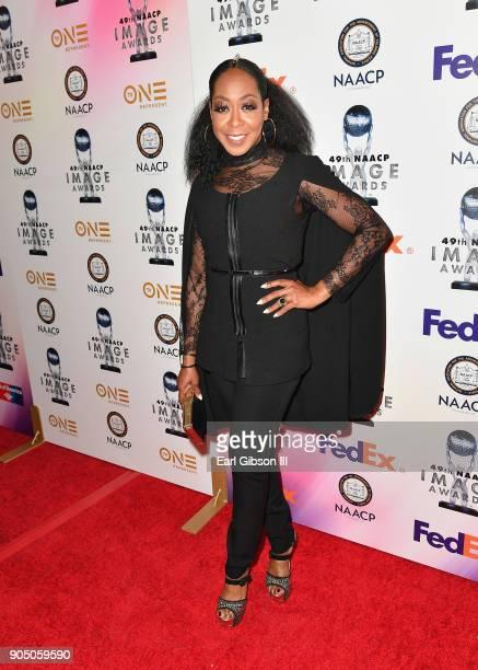 Tichina Arnold at the 49th NAACP Image Awards NonTelevised Awards Dinner at the Pasadena Conference Center on January 14 2018 in Pasadena California