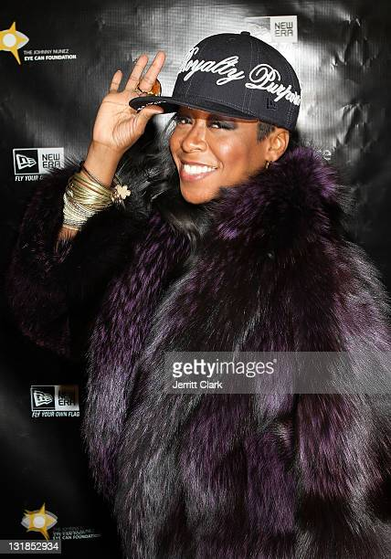 Tichina Arnold attends Johnny Nunez New Era Cap Launch at New Era Flagship Store on December 1 2010 in New York City