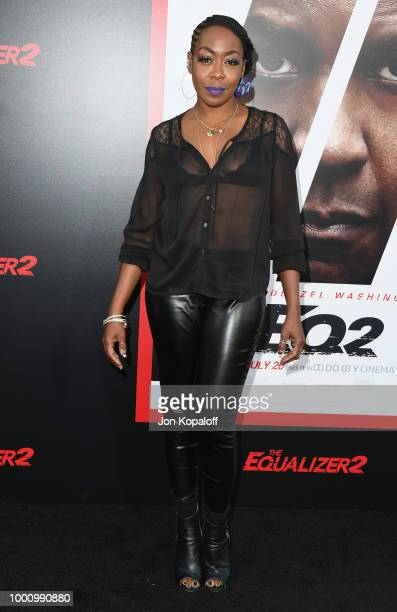 Tichina Arnold attends premiere of Columbia Picture's 'Equalizer 2' at TCL Chinese Theatre on July 17 2018 in Hollywood California