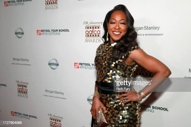Tichina Arnold attends the 10th annual AAFCA Awards at Taglyan Complex on February 06 2019 in Los Angeles California