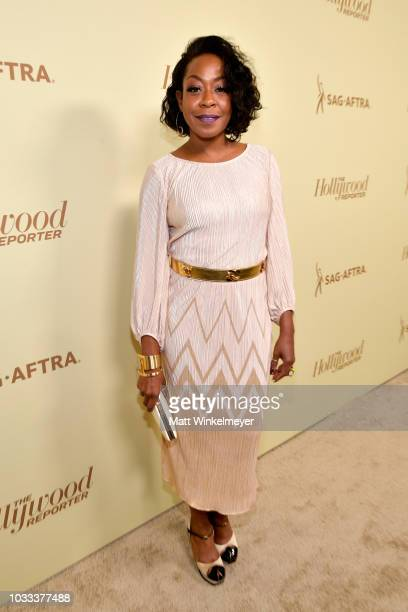 Tichina Arnold attends The Hollywood Reporter SAGAFTRA 2nd annual Emmy Nominees Night presented by Douglas Elliman and Heineken at Avra Beverly Hills...