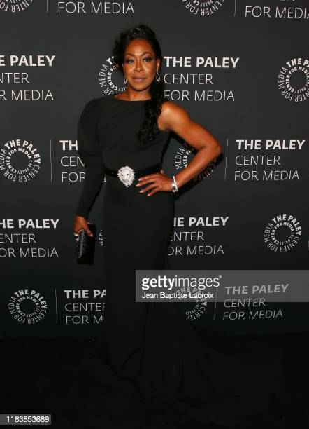 Tichina Arnold attends the Paley Honors A Special Tribute To Television's Comedy Legends at the Beverly Wilshire Four Seasons Hotel on November 21...