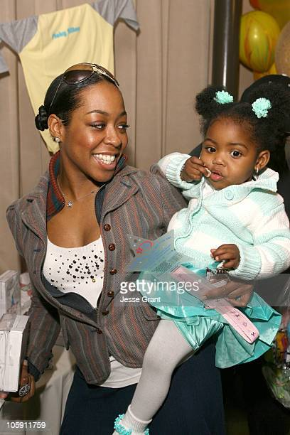 Tichina Arnold during Golden Globe Gifting Suite Boom Boom Room at Roosevelt Hotel in Hollywood CA United States
