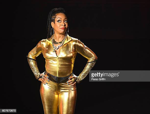 Tichina Arnold on stage at 2016 Triumph Awards presented by National Action Network and TV One at The Tabernacle on September 18 2016 in Atlanta...