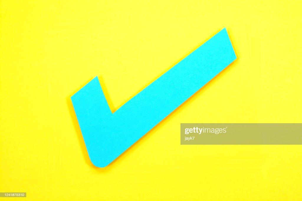Tick Mark : Stock Photo