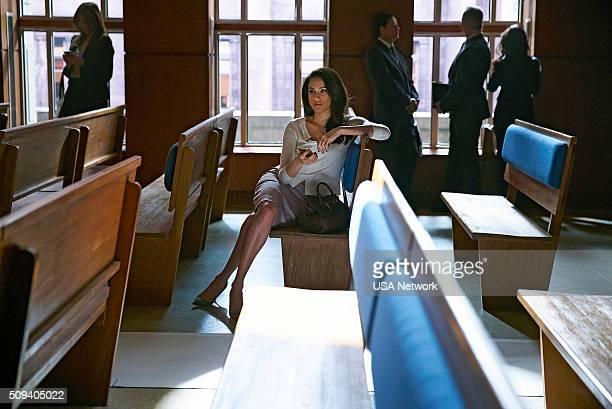 SUITS 'Tick Tock' Episode 515 Pictured Meghan Markle as Rachel Zane