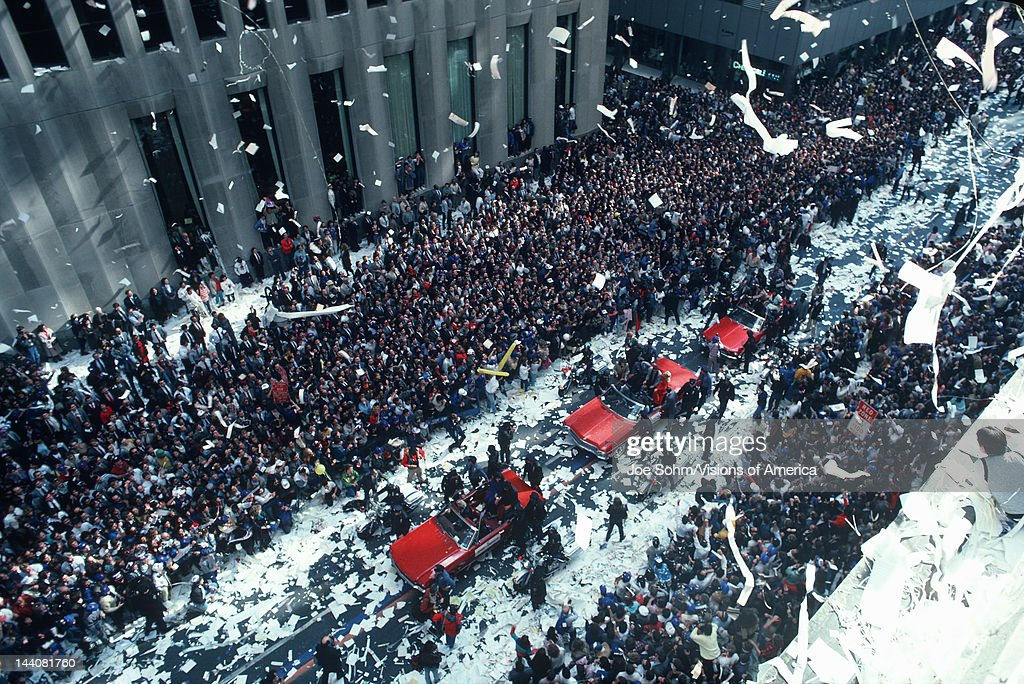 Tickertape Parade on Wall Street, New York