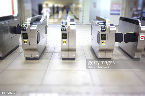 Ticket barrier