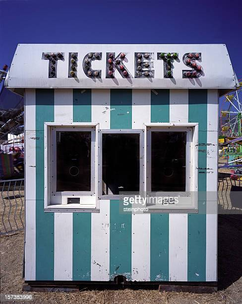 Ticket Booth at the Carnival