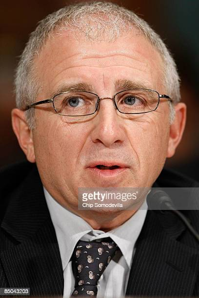 Ticketmaster Entertainment CEO Irving Azoff testifies before the Senate Judiciary Committee's Antitrust Competition Policy and Consumer Rights...