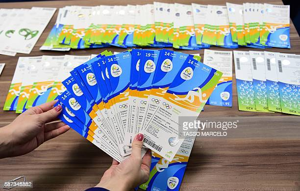 Tickets of the Rio 2016 Olympic Games seized to one of the directors of THG Sports a company of international business events and information group...