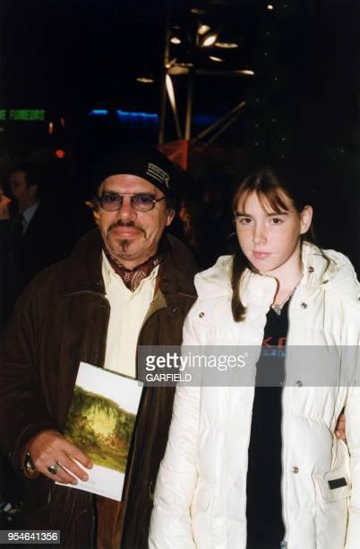 Ticky Holgado et sa fille Jessica le 10 novembre 1999 à Paris, France.