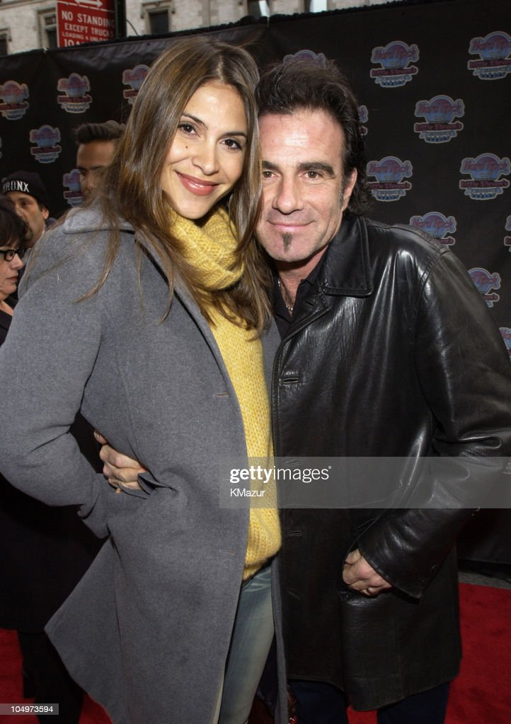 Tico Torres and wife during Hard Rock Cafe Presents 'Little Steven's Underground Garage' radio show at the Hard Rock Cafe in NYC at Hard Rock Cafe NYC in New York City, New York, United States.