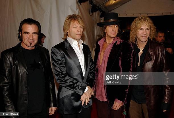 Tico Torres David Bryan Richie Sambora and Jon Bon Jovi of Bon Jovi