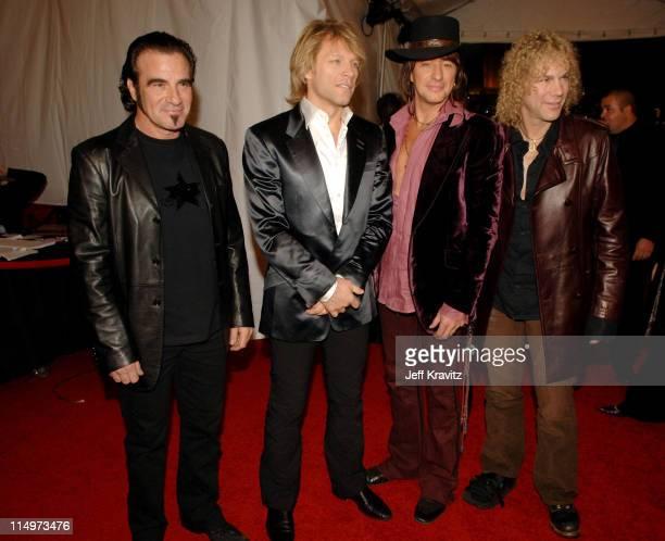 Tico Torres Jon Bon Jovi Richie Sambora and David Bryan of Bon Jovi