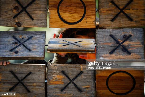 Tic-Tac-Toe At Playground