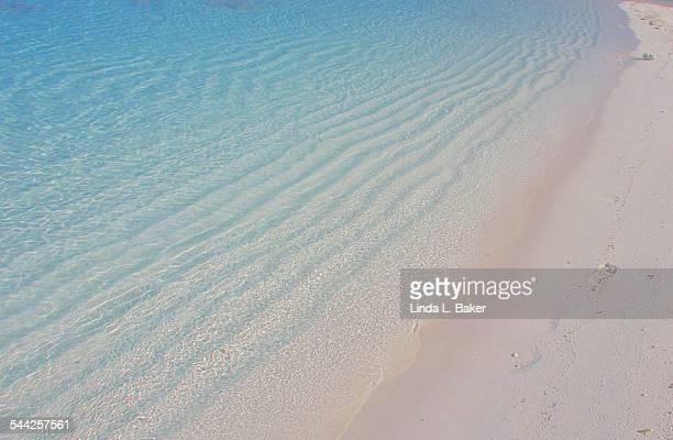 tidal rhythms - harbor island bahamas stock photos and pictures