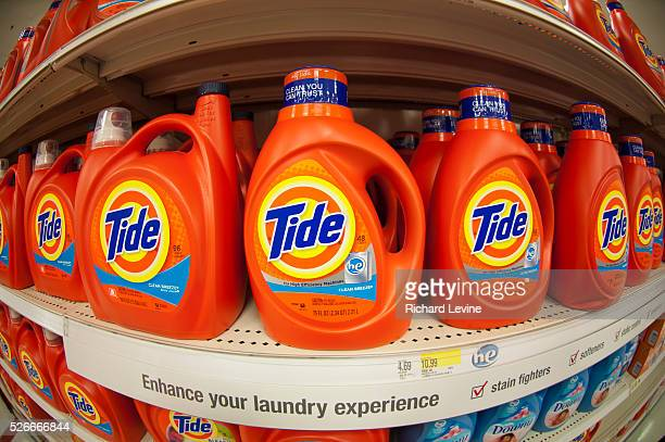 Tide detergent in the grocery department in a Target store in Elmhurst in the New York borough of Queens during the Thanksgiving weekend on Saturday...