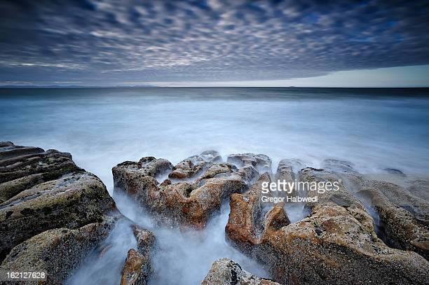 Tide erosion