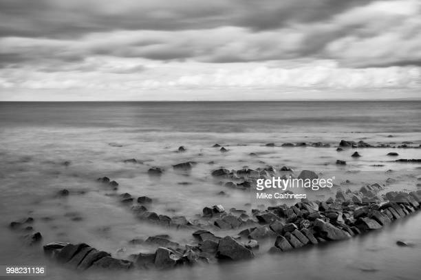 tide going out - mike caithness stock pictures, royalty-free photos & images