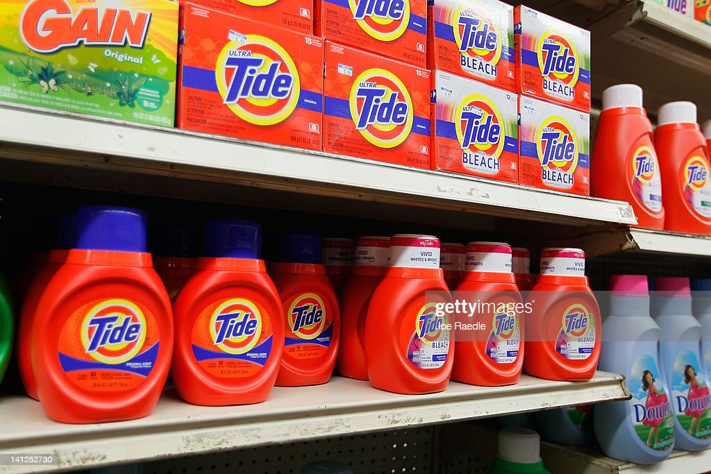 Tide Detergent Becomes Unlikely Target For Many Thieves : News Photo